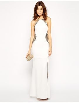 tfnc-maxi-dress-with-sequin-inserts by tfnc
