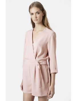 wrap-romper by topshop