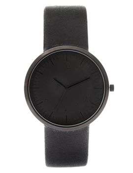 asos-monochrome-watch-in-black by asos