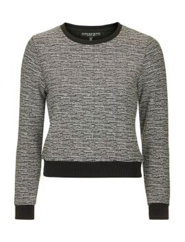 petite-exclusive-jacquard-sweat by topshop