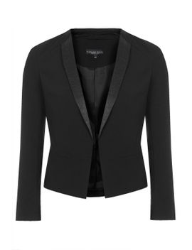 petite-tuxe-jacket by topshop