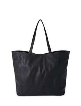 slouchy-faux-leather-shopper by forever-21