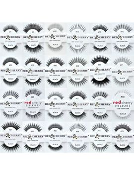 20-red-cherry-100-percents-human-hair-false-eye-lashes-fake-eye-lashes-pick-any-20-pairs by ebay-seller