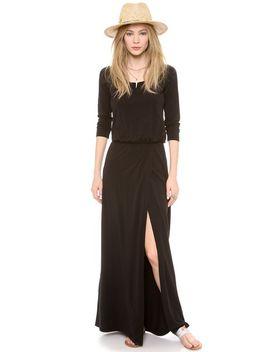 high-slit-maxi-dress by splendid