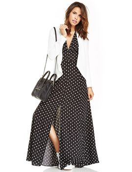 dailylook-sultry-polka-dot-maxi-dress by dl