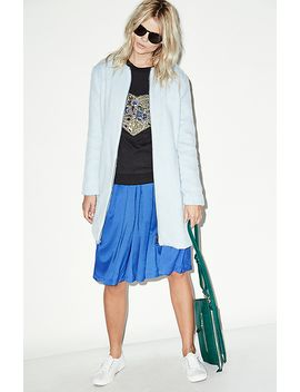 a-line-pleated-midi-skirt by dl