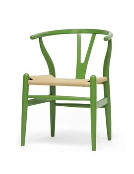 baxton-studio-wishbone-modern-green-wood-dining-chair-with-light-brown-hemp-seat by baxton-studio
