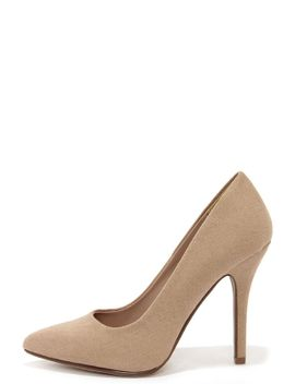 step-it-up-light-taupe-suede-pointed-pumps by lulus
