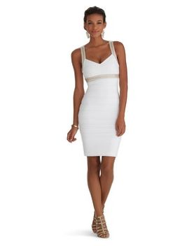 sleeveless-embellished-instantly-slimming-dress by whbm