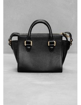 leather-shoulder-bag by &-other-stories