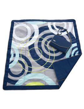 jj-cole-outdoor-blanket,-blue-orbit,-5-x-5 by jj-cole