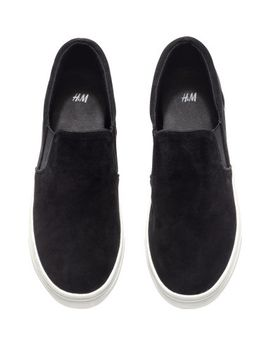 suede-sneakers by h&m