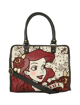 disney-the-little-mermaid-tattoo-ariel-bag by hot-topic