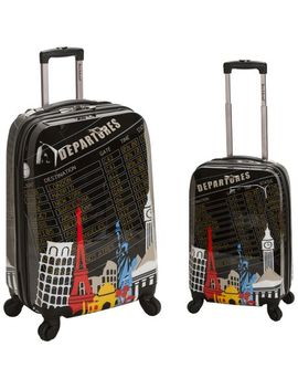 rockland-luggage-2-piece-upright-luggage-set by rockland