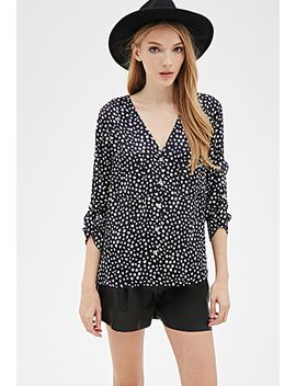 abstract-dotted-blouse by forever-21
