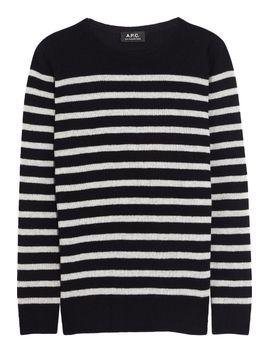 striped-wool-sweater by apc-atelier-de-production-et-de-création