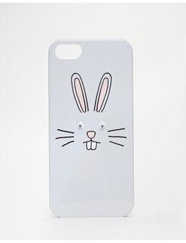 asos-googly-rabbit-iphone-5-case by asos-collection