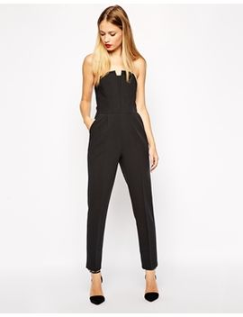 asos-pleated-origami-jumpsuit by asos-collection