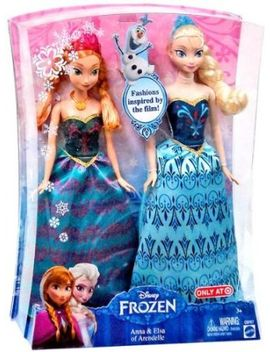 disney-frozen-anna-&-elsa-fashion-doll-2-pack-limited-distribution by disney-frozen