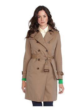 cotton-trench-coat by brooks-brothers