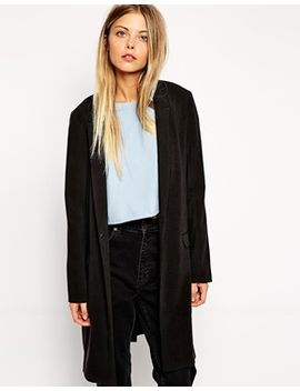 asos-longline-jacket-with-skinny-lapel by asos-collection