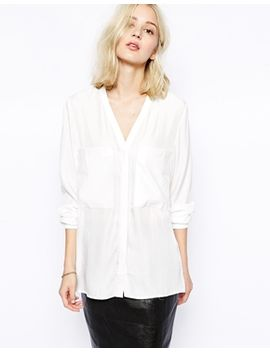 vila-etam-pocket-shirt by vila