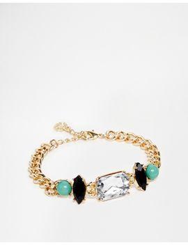 pieces-chunky-gem-bracelet by pieces