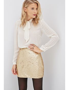 sequined-bodycon-skirt by forever-21