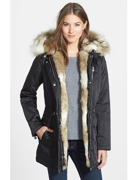 removable-faux-fur-trim-parka by laundry-by-shelli-segal