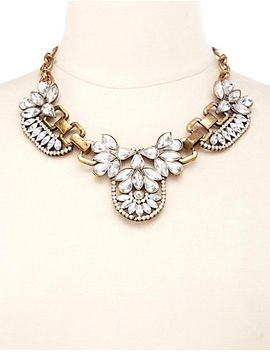 vintage-inspired-rhinestone-bib-necklace by charlotte-russe