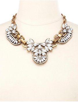 vintage-inspired-rhinestone-bib-necklace by charlotte-russe