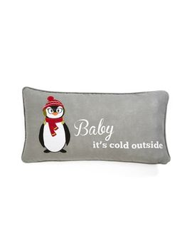 cold-penguin-accent-pillow by levtex