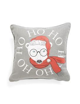 polar-bear-accent-pillow by levtex