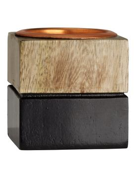 wooden-tea-light-holder by h&m