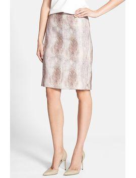 fur-print-pencil-skirt by maison-scotch