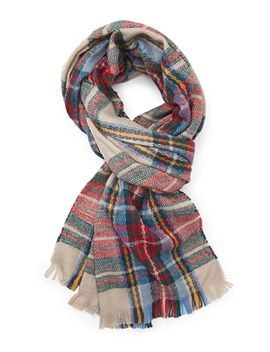 tartan-plaid-scarf by forever-21