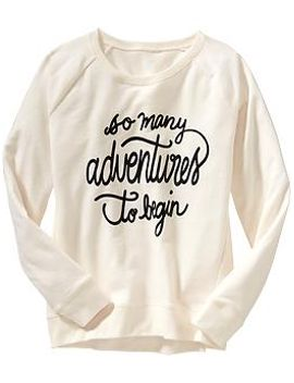 girls-graphic-sweatshirts by old-navy