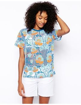 asos-burn-out-top-with-deco-florals by asos-collection