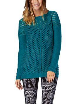 mitred-lattice-tunic-sweater by rue21