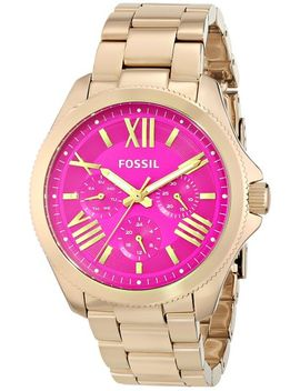 fossil-womens-am4539-cecile-gold-tone-stainless-steel-watch by fossil