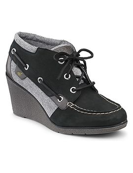 hadley-wedge-bootie by sperry