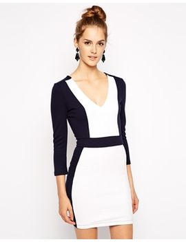 french-connection-bodycon-dress-in-textured-fabric by french-connection