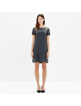 silk-sequin-yoke-dress by madewell