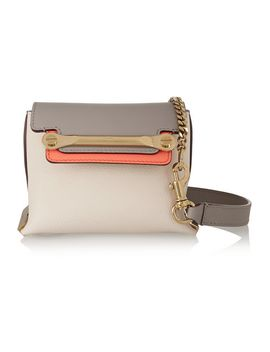clare-mini-leather-shoulder-bag by chloé