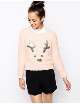 new-look-sequin-reindeer-sweater by new-look