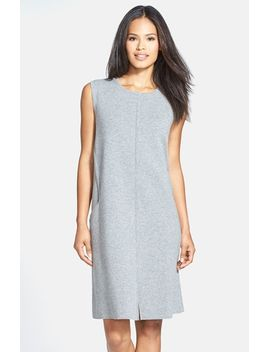 sleeveless-wool-flannel-shift-dress by lafayette-148-new-york
