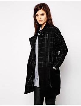 yas-block-coat-with-check-panel by yas