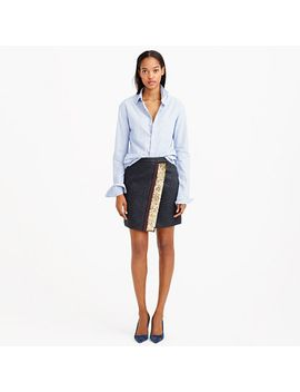 origami-skirt-with-sequin-stripe by jcrew