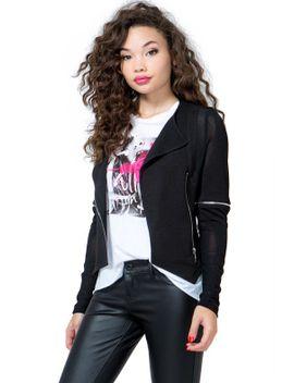 mesh-mix-moto-jacket by agaci