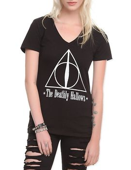 harry-potter-deathly-hallows-girls-t-shirt by hot-topic